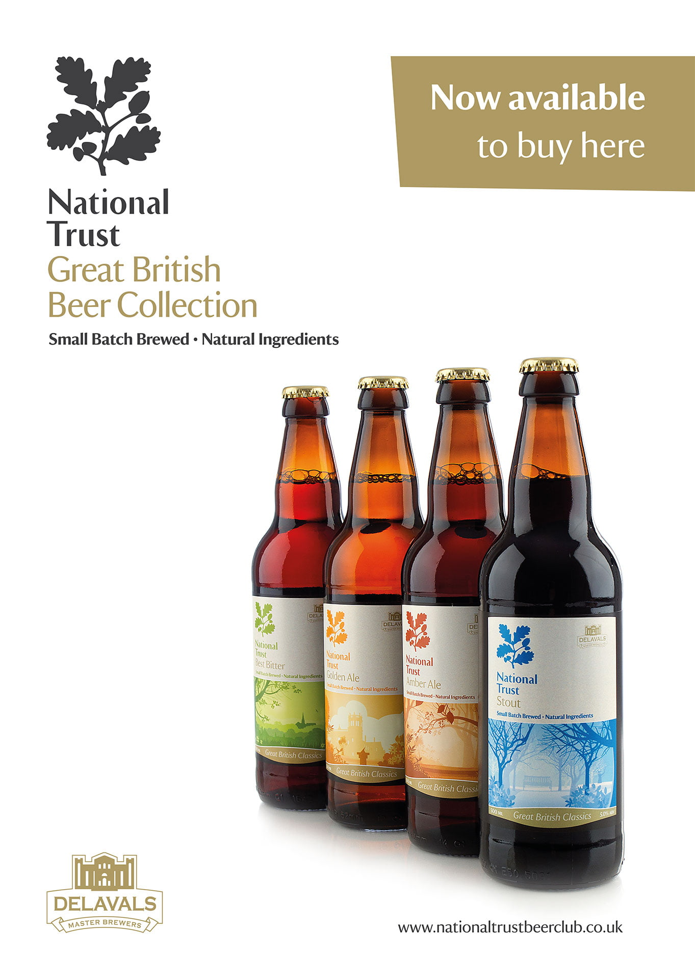 National Trust - Great British Beer Collection